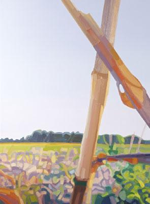 Friederike Hinz Malerei MON-810-Installation Bild 1
