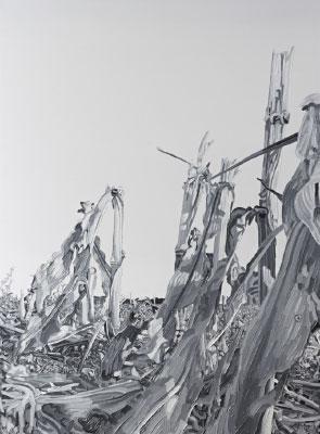 Friederike Hinz Malerei MON-810-Installation Bild 9