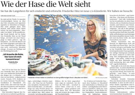 Friederike Hinz Rheinische Post 10 2015